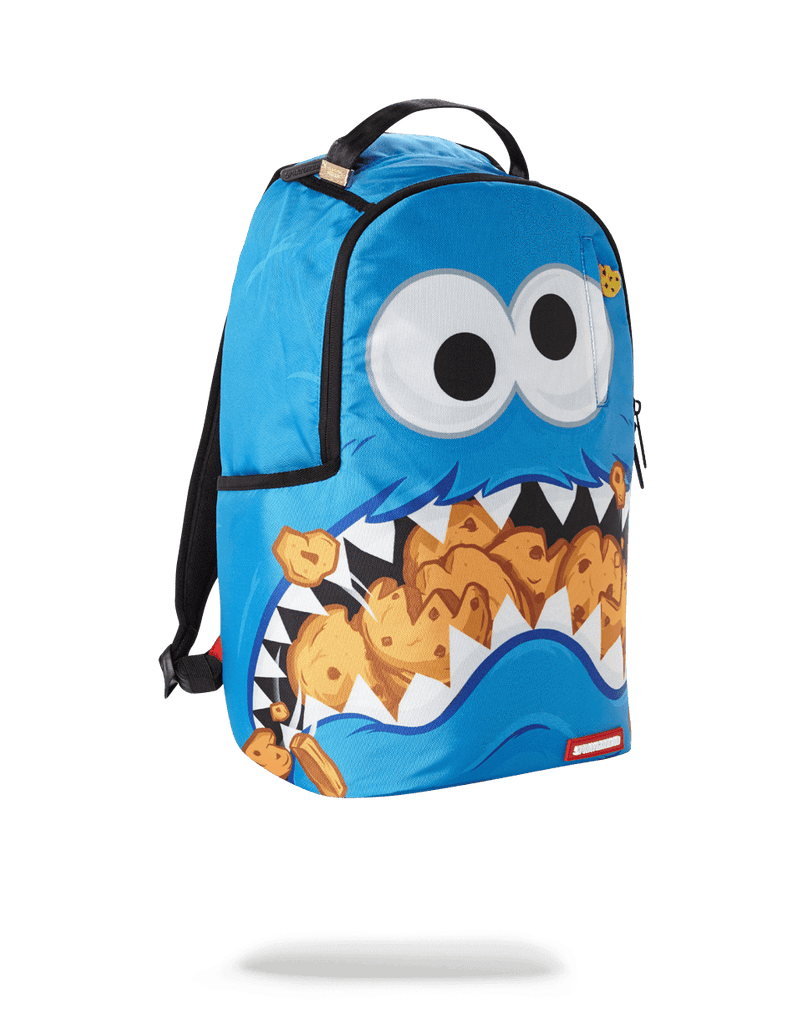 SPRAYGROUND- COOKIE MONSTER SHARK BACKPACK