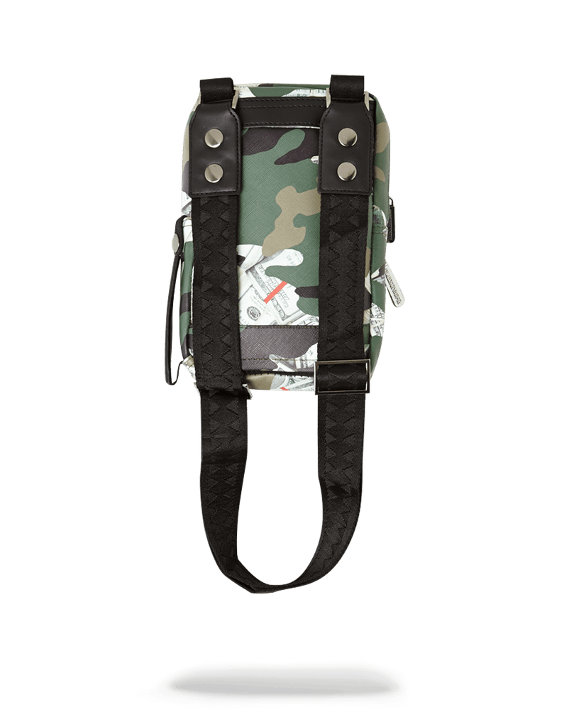 SPRAYGROUND- CAMO MONEY SHARK SLING SLING