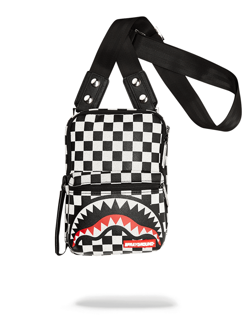 SPRAYGROUND- REFLECTIVE SHARKS IN PARIS SLING SLING