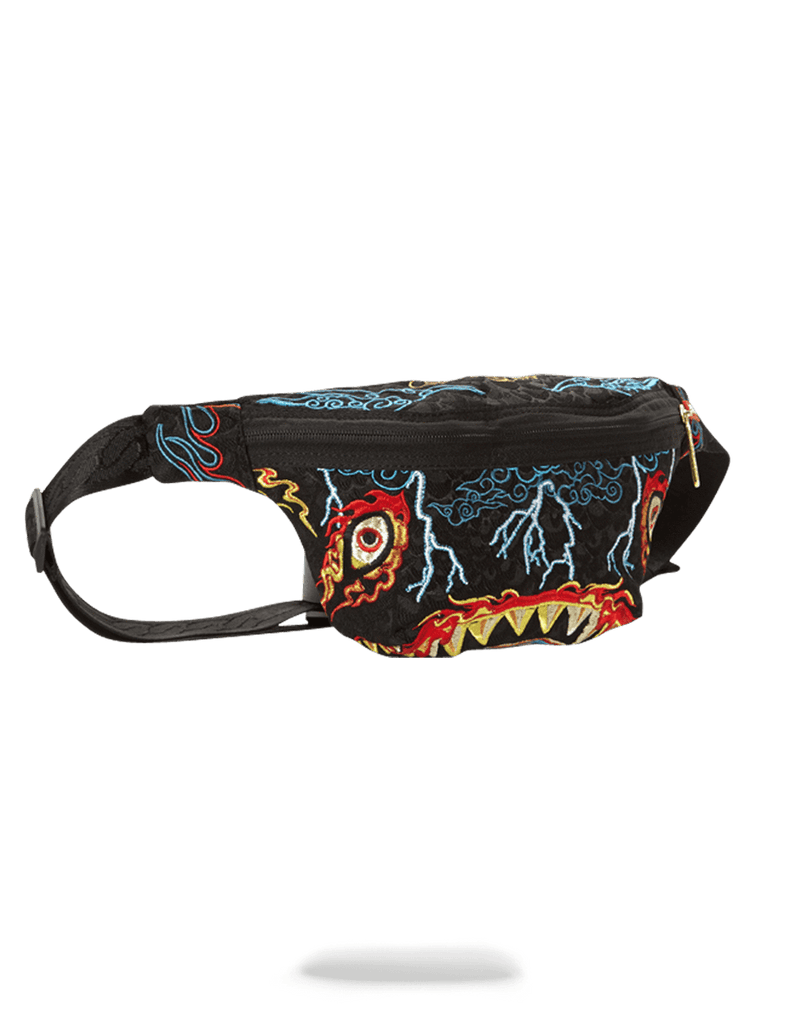 SPRAYGROUND- DRAGON SHARK NIGHTMARE CROSSBODY CROSS BODY