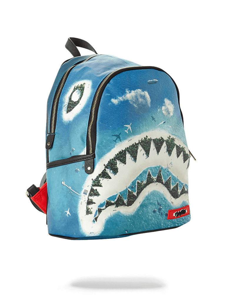 SPRAYGROUND- SHARK ISLAND SAVAGE BACKPACK
