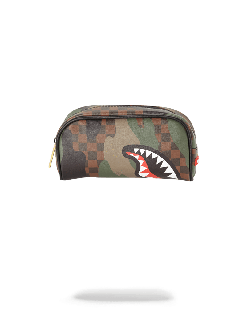 SPRAYGROUND- SHARKS IN PARIS (CAMO EDITION) PENCIL CASE PENCIL CASE