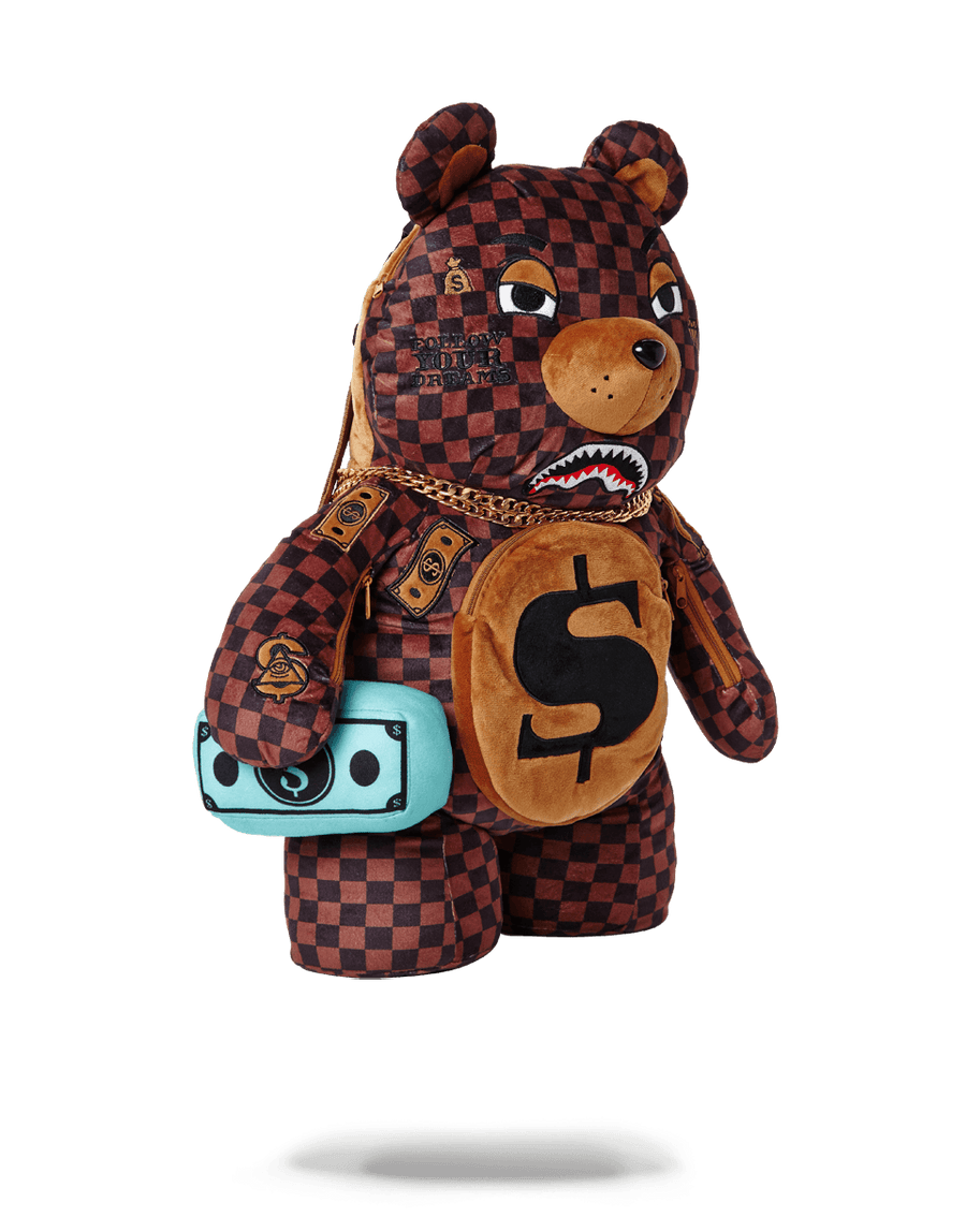 SPRAYGROUND- PARIS BEAR (TEDDY BEAR BACKPACK) BACKPACK