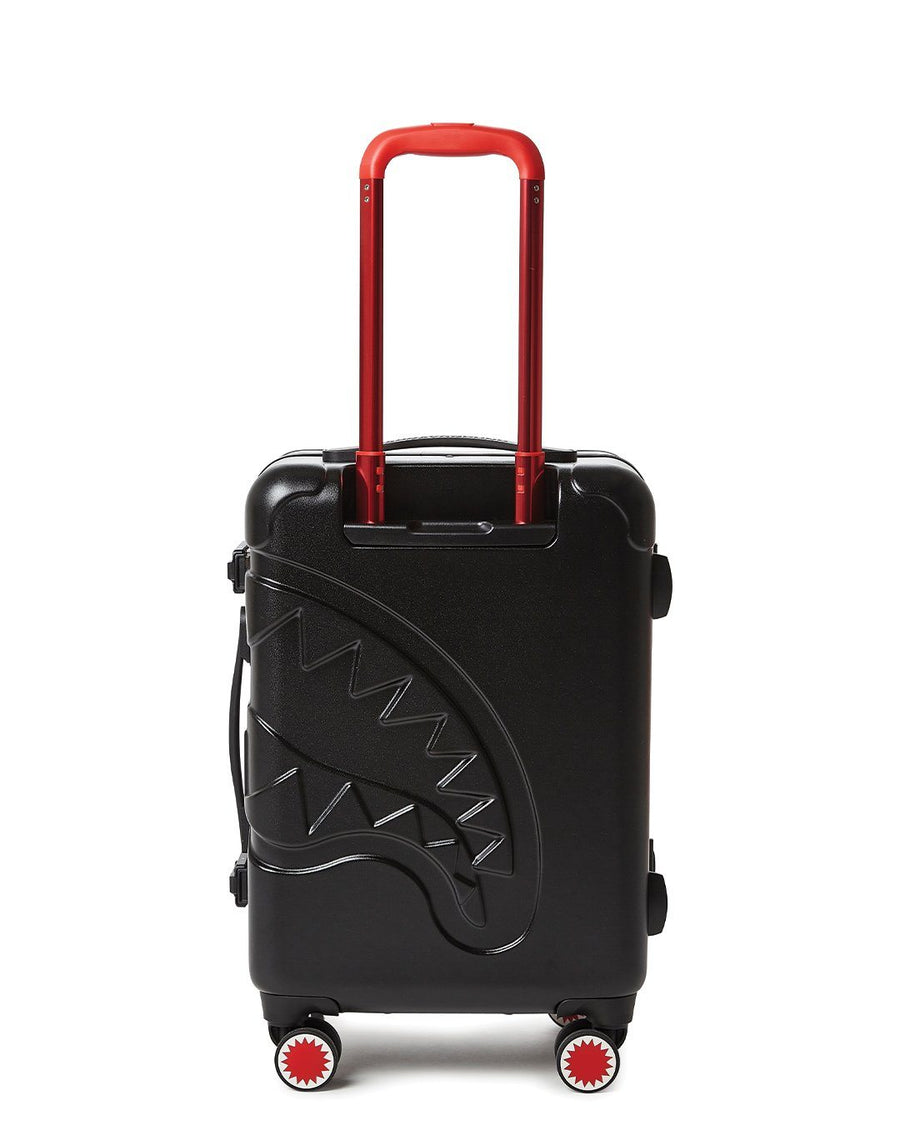 "SPRAYGROUND- SHARKITECTURE (BLACK) 21.5"" CARRY-ON LUGGAGE LUGGAGE"