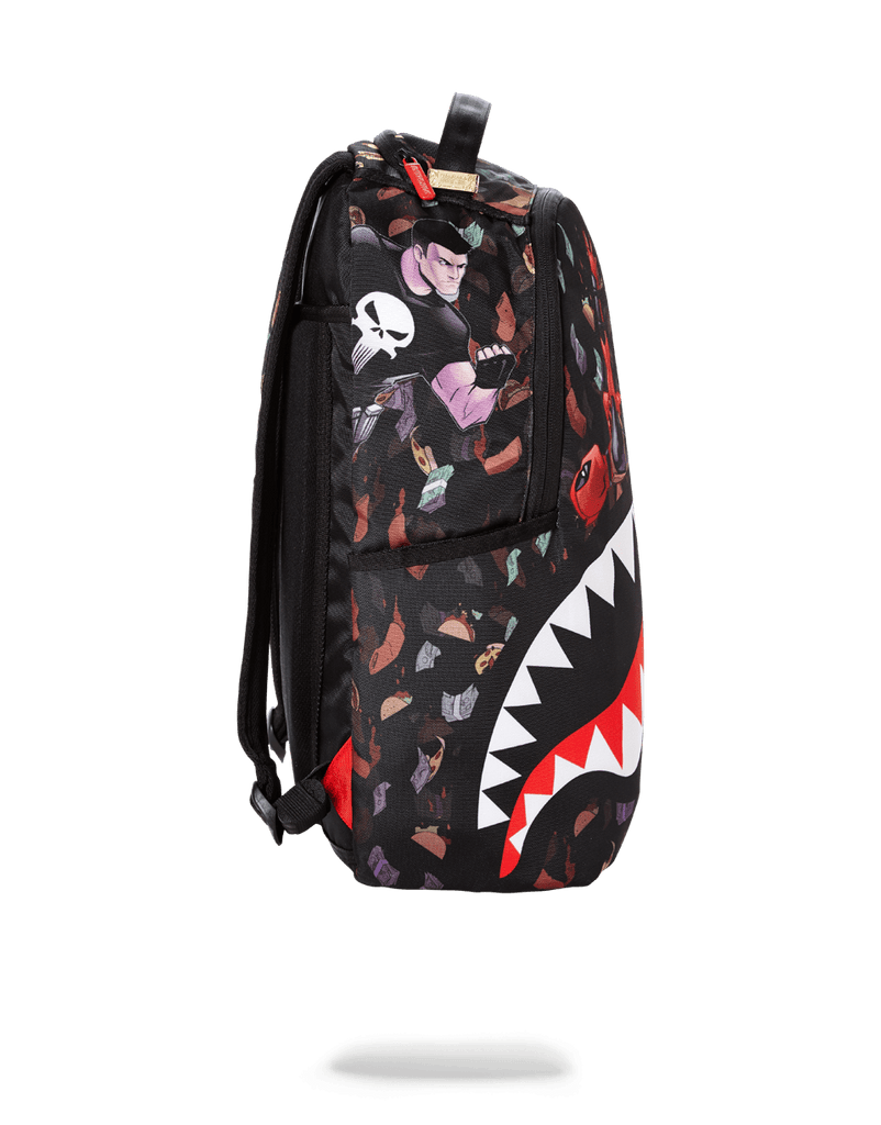 SPRAYGROUND- DEADPOOL TACO$ RAIN SHARK BACKPACK