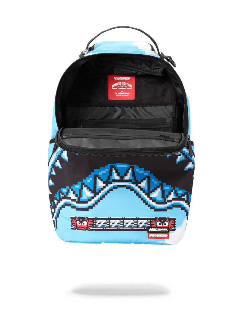 SPRAYGROUND- MEGA MAN DESTROYER SHARK BACKPACK