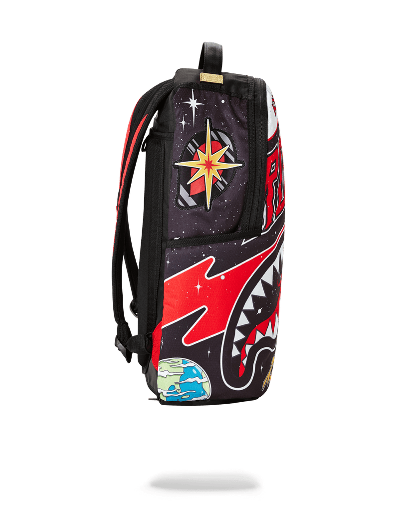 SPRAYGROUND- NBA LAB HOUSTON ROCKETS  TRAVELS BACKPACK