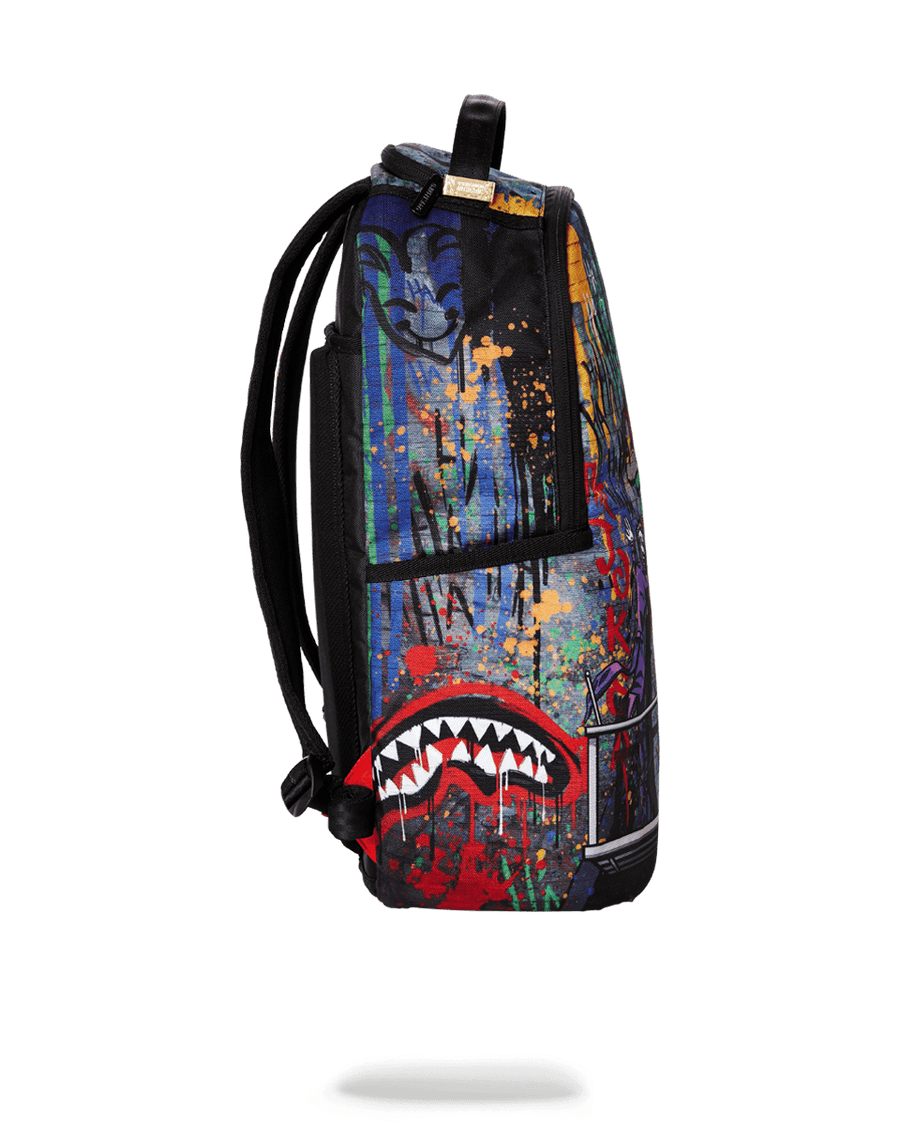SPRAYGROUND- BATMAN MURAL BY JOKER BACKPACK