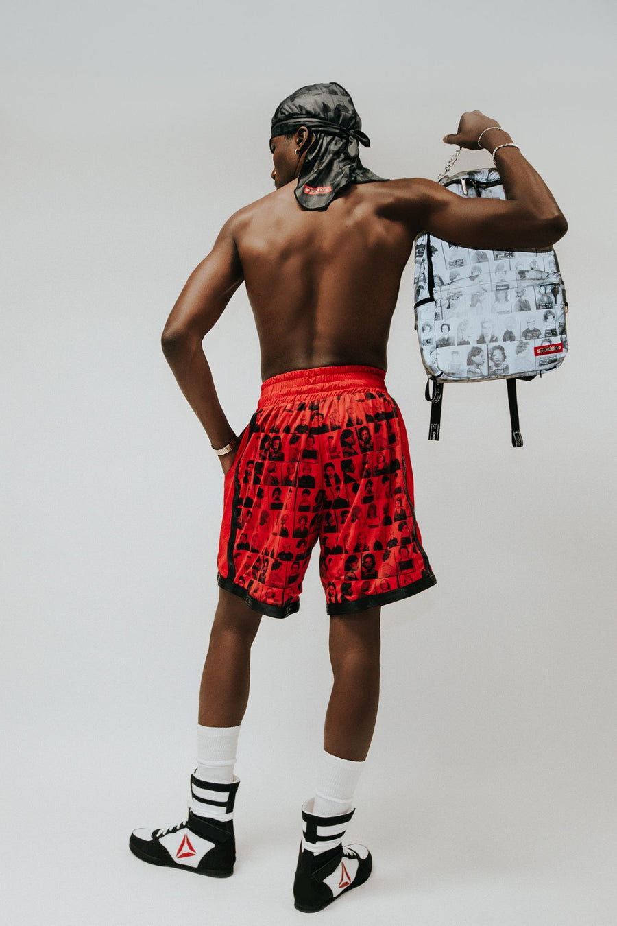 SPRAYGROUND- LAQUAN SMITH SCAMMER BASKETBALL SHORTS SHORTS