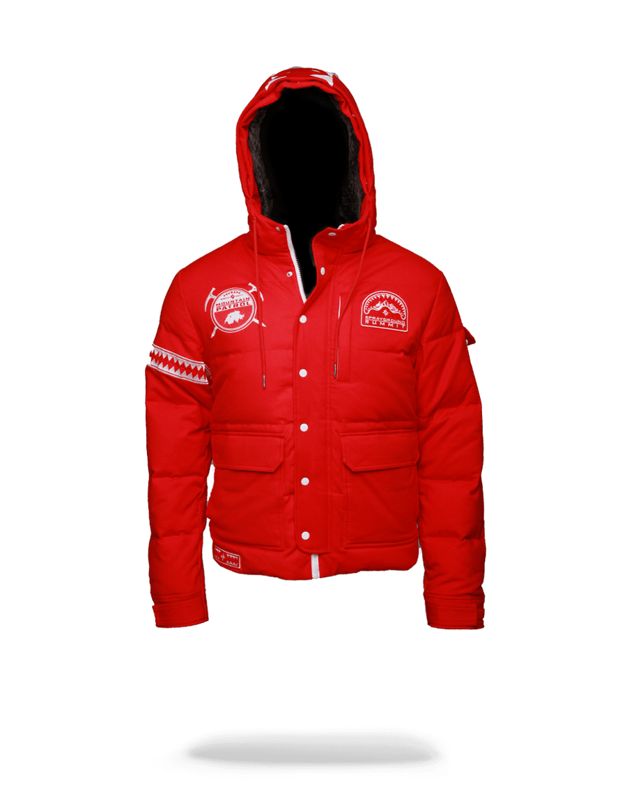 SPRAYGROUND- $KY HIGH SEEKERS CHOPPER JACKET OUTERWEAR