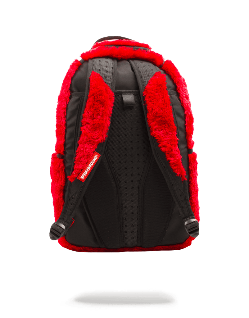 SPRAYGROUND- FUR MONSTER BACKPACK