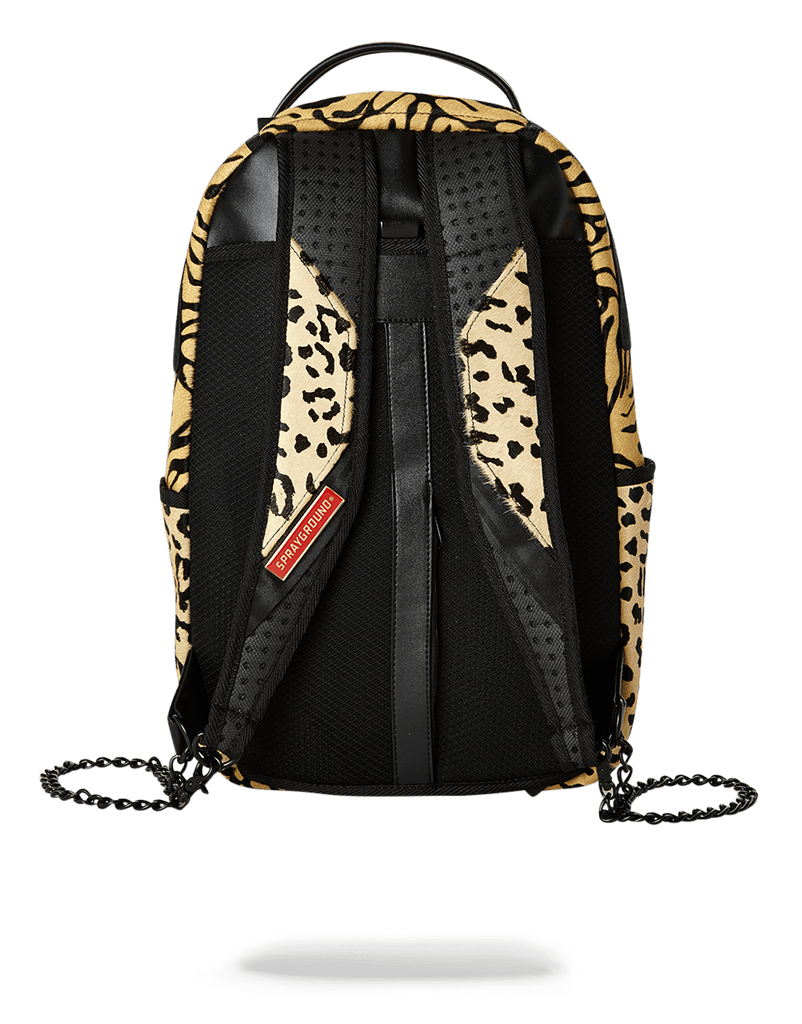 SPRAYGROUND- SAFARI SHARK (PONY HAIR/LEATHER) LIMITED TO 50 PCS BACKPACK