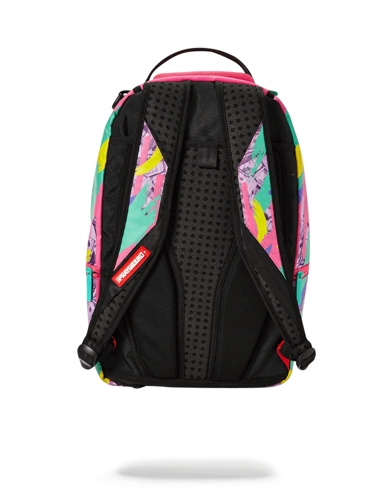 SPRAYGROUND- MONEY PINK CAMO DRIP BACKPACK