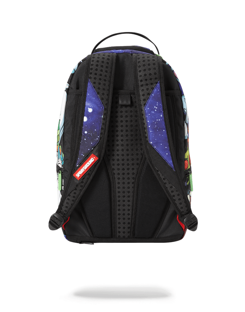 SPRAYGROUND- RICK & MORTY CRAMMED BACKPACK