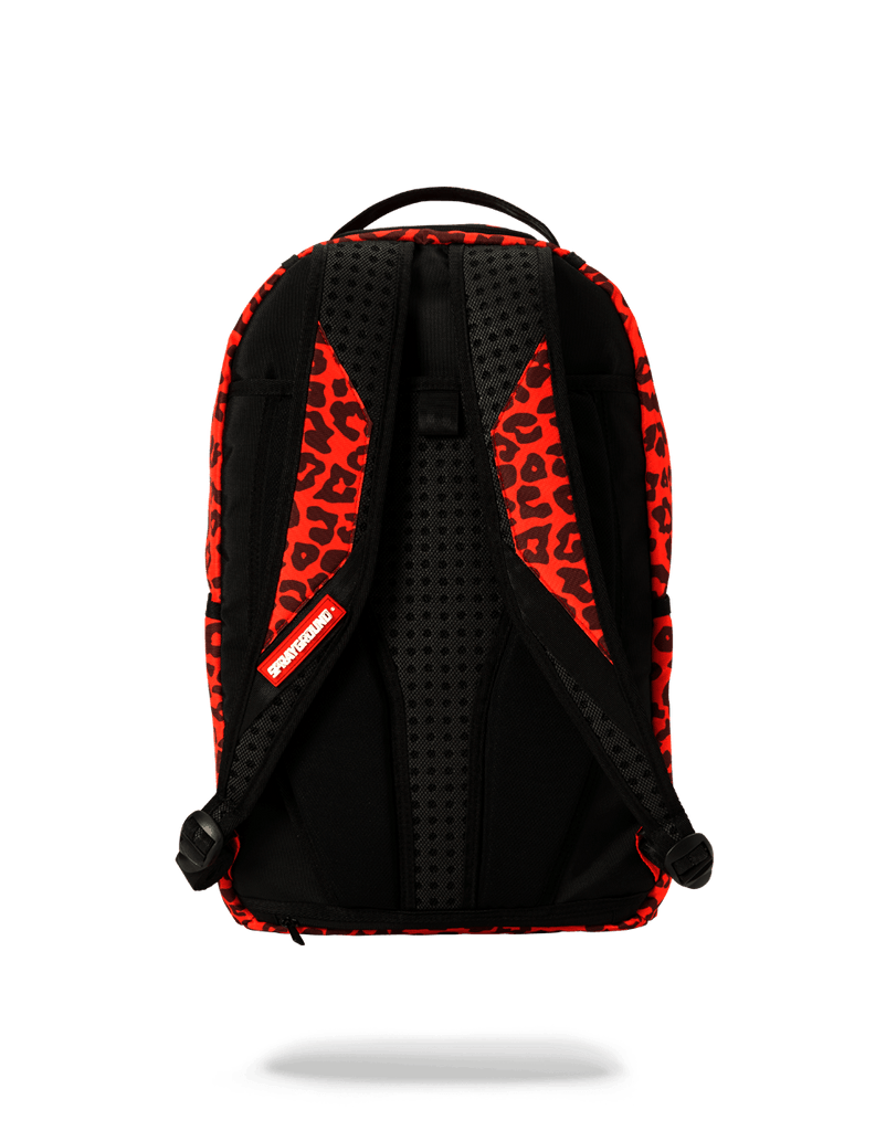 SPRAYGROUND- RED LEOPARD LIPS BACKPACK