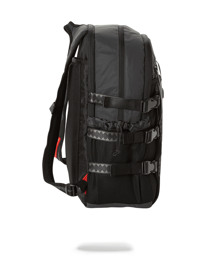 SPRAYGROUND- BLACK 3M REFLECTIVE NOMAD BACKPACK
