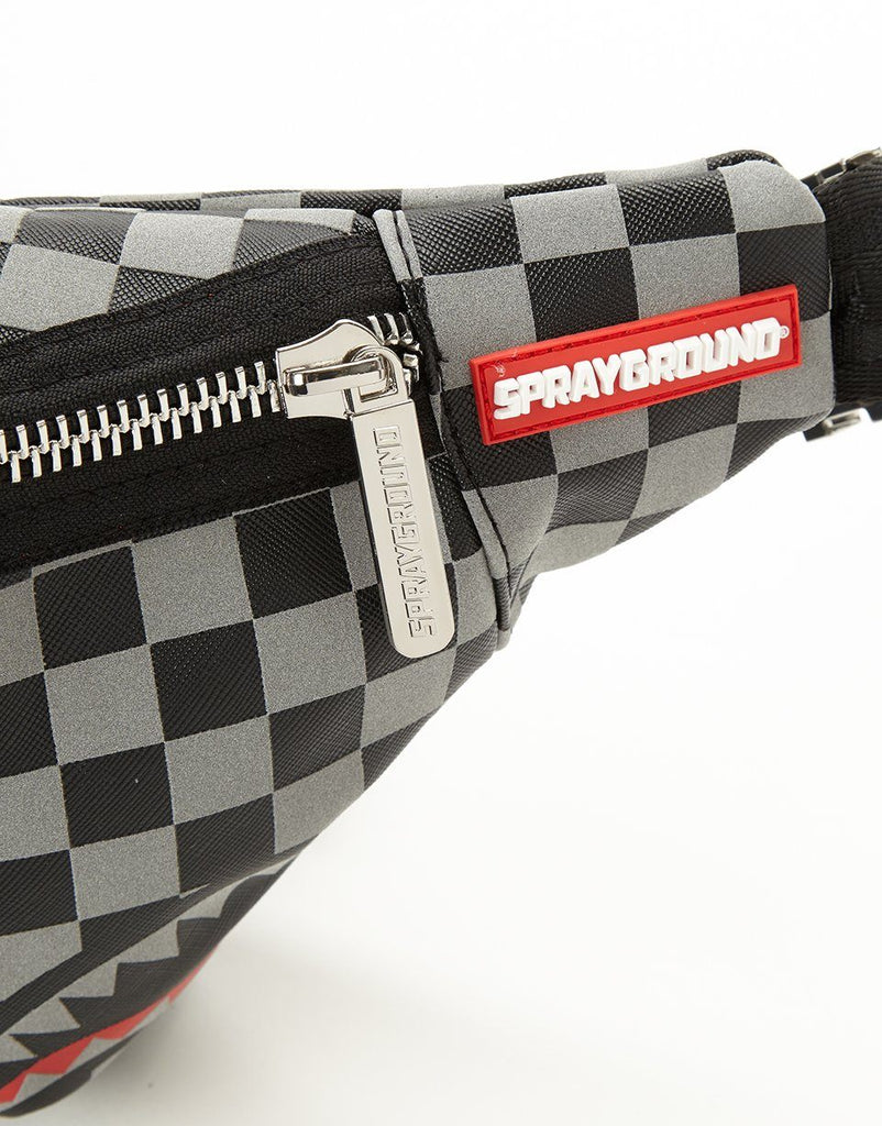 SPRAYGROUND- REFLECTIVE SHARKS IN PARIS CROSSBODY CROSS BODY