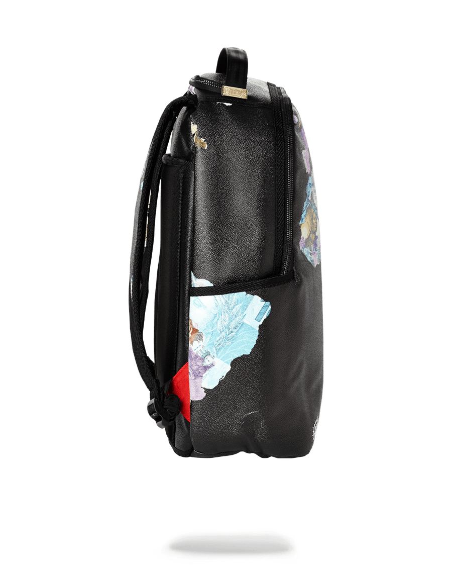 SPRAYGROUND- GLOBAL MONEY BACKPACK BACKPACK