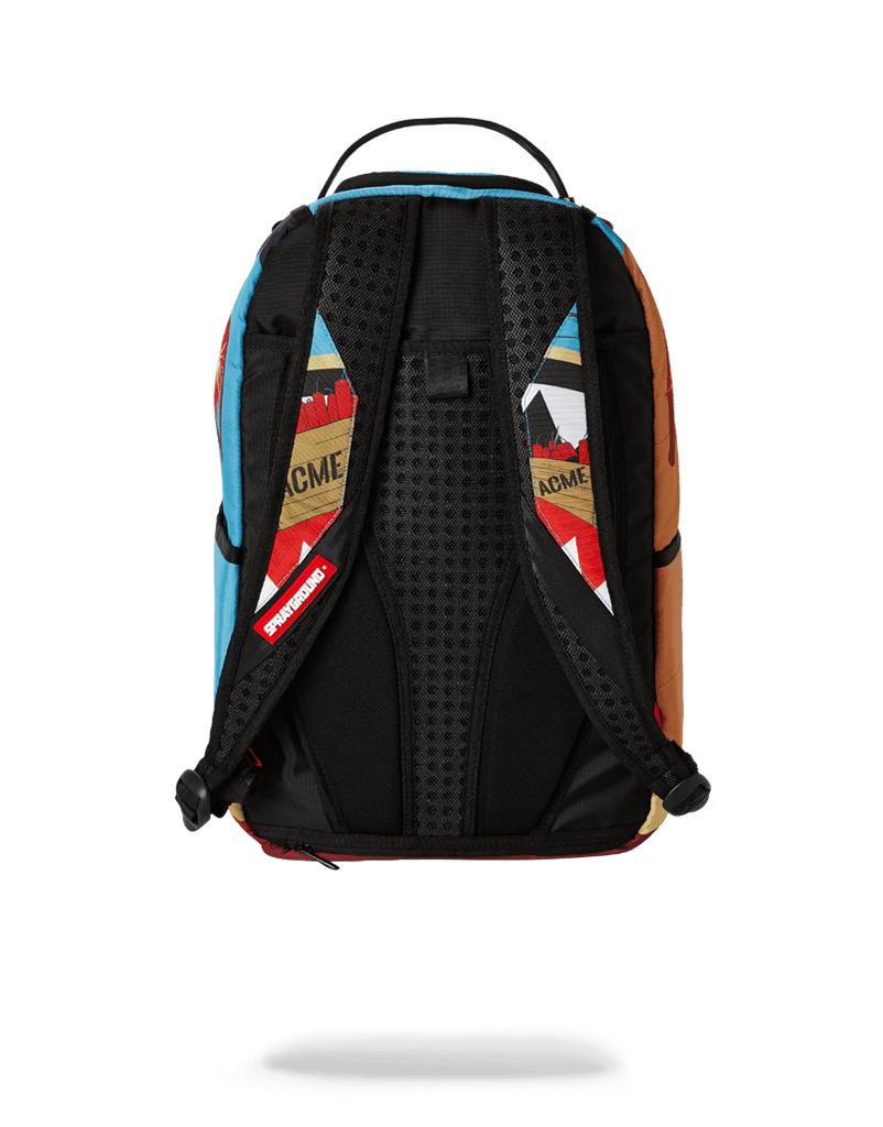 SPRAYGROUND- COYOTE VS ROADRUNNER SHARK BACKPACK