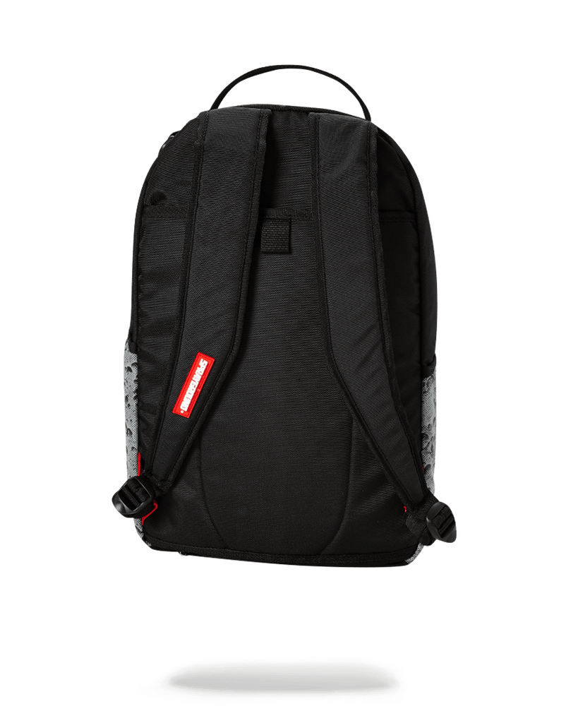 SPRAYGROUND- ANGLED REFLECTIVE SHARK (SPACE SHOT) BACKPACK