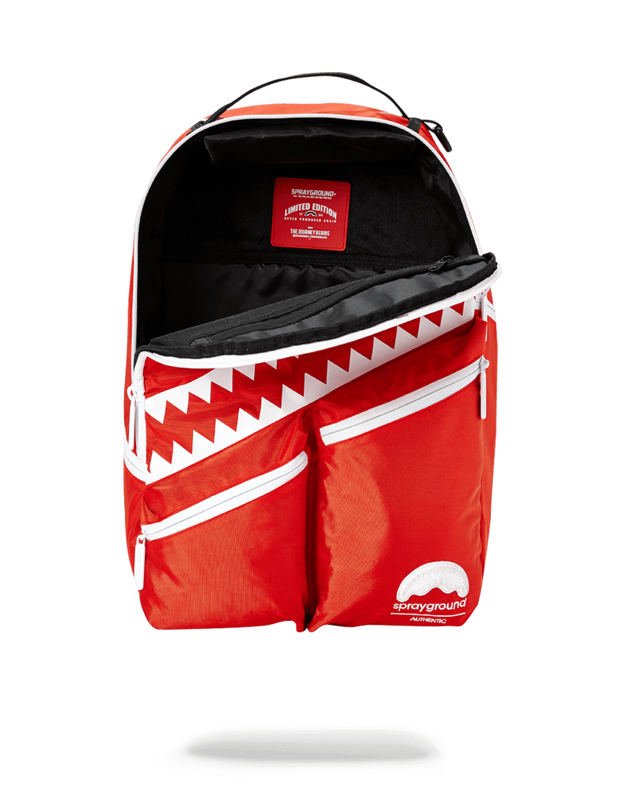 SPRAYGROUND- ALL DAY (RED) BACKPACK