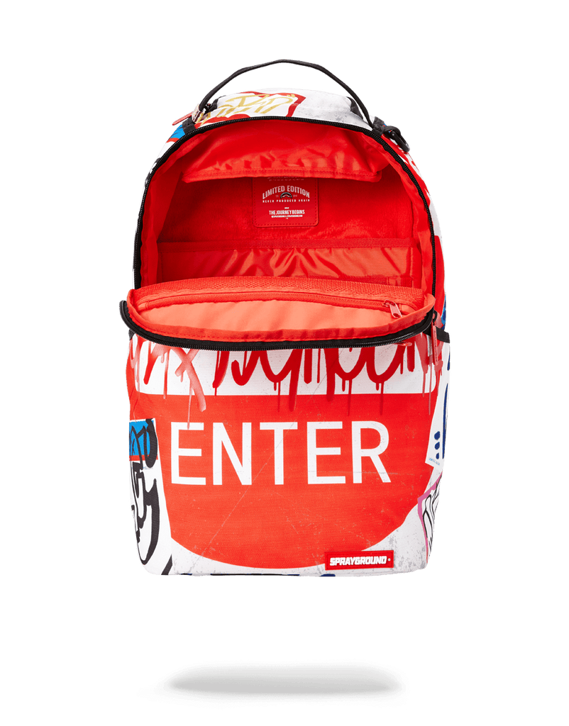 SPRAYGROUND- DO NOT ENTER BACKPACK