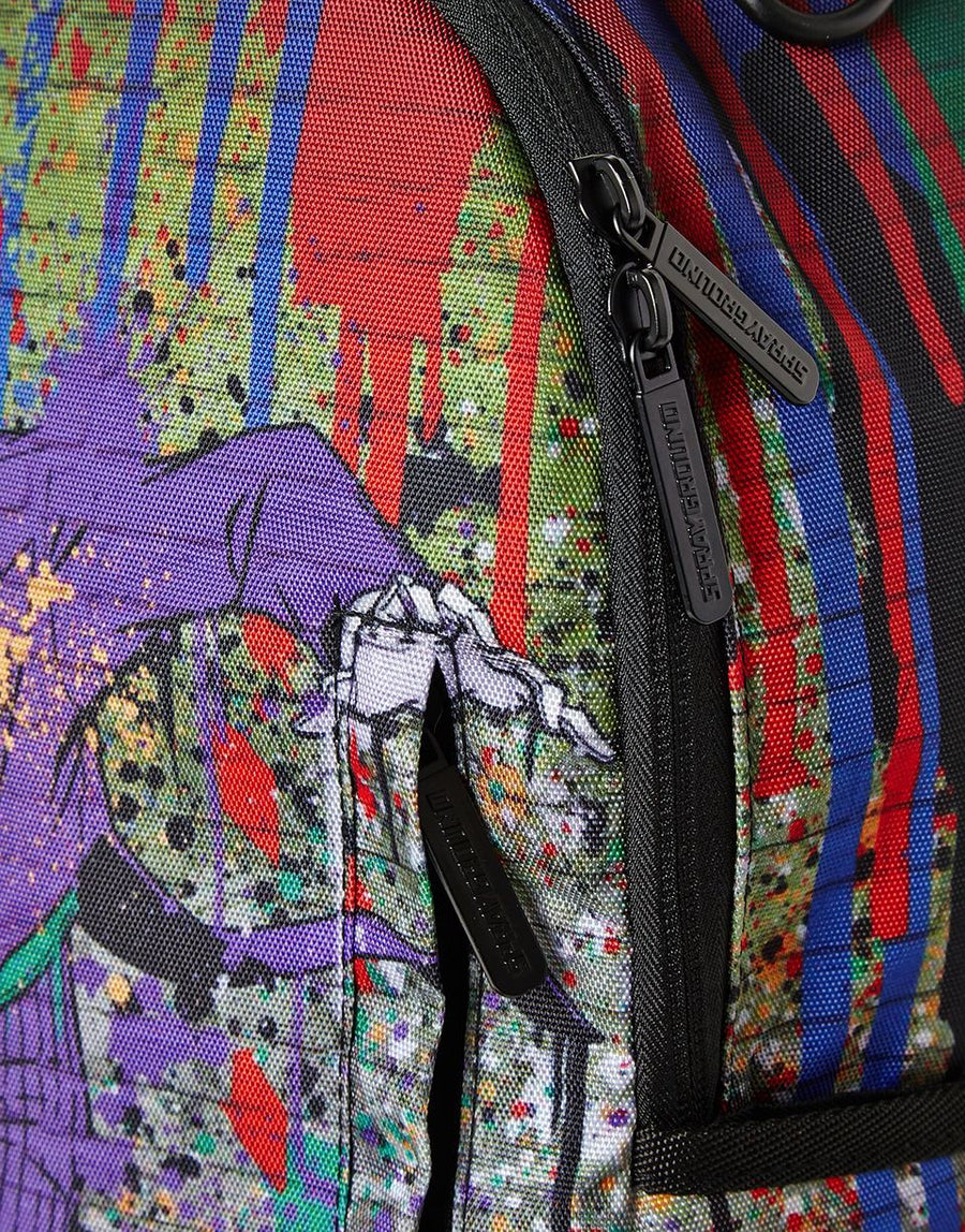 SPRAYGROUND- JOKER MURAL BY HARLEY QUINN BACKPACK