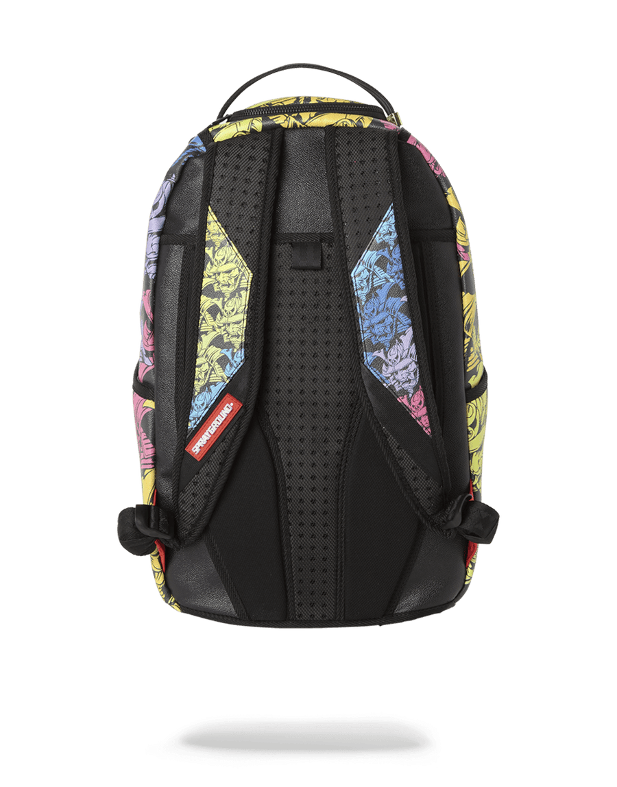SPRAYGROUND- SAMURAI HEAD REPEAT BACKPACK (ONE OF ONE) BACKPACK