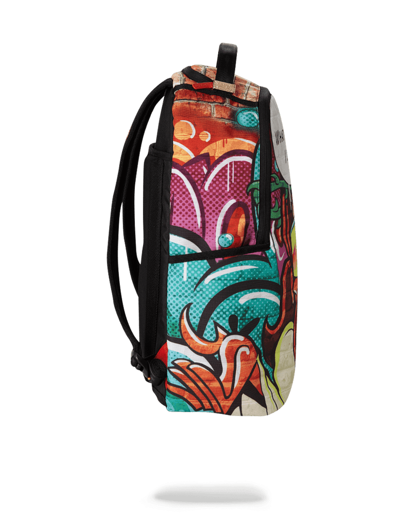 SPRAYGROUND- WHAT WOULD I DO BACKPACK