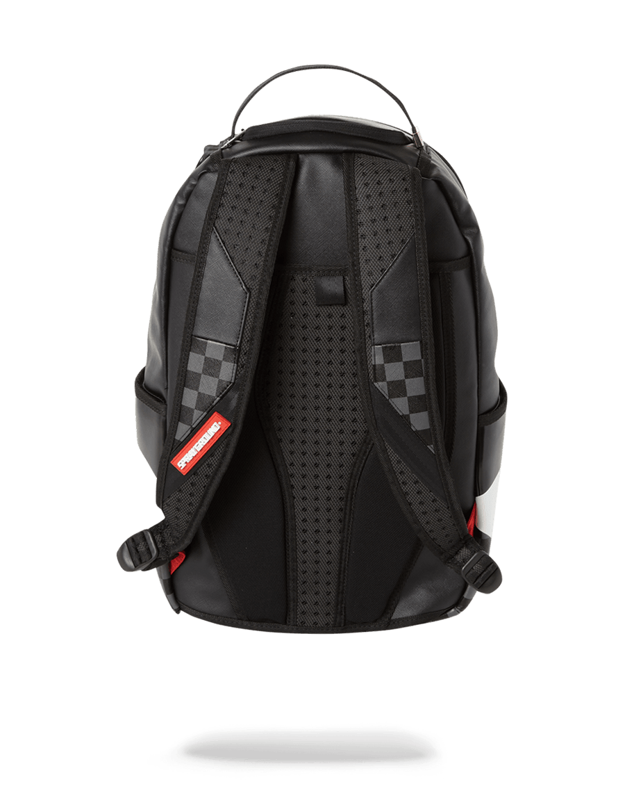 SPRAYGROUND- BLACK HALF CHECK SHARKS IN PARIS BACKPACK (ONE OF ONE) BACKPACK
