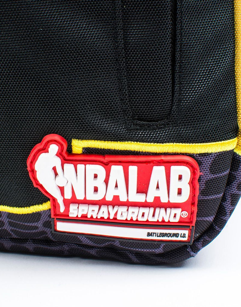 SPRAYGROUND- NBALAB BALL JERSEY BACKPACK