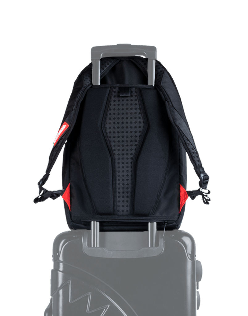 SPRAYGROUND- FIRE MONEY SHARK BACKPACK