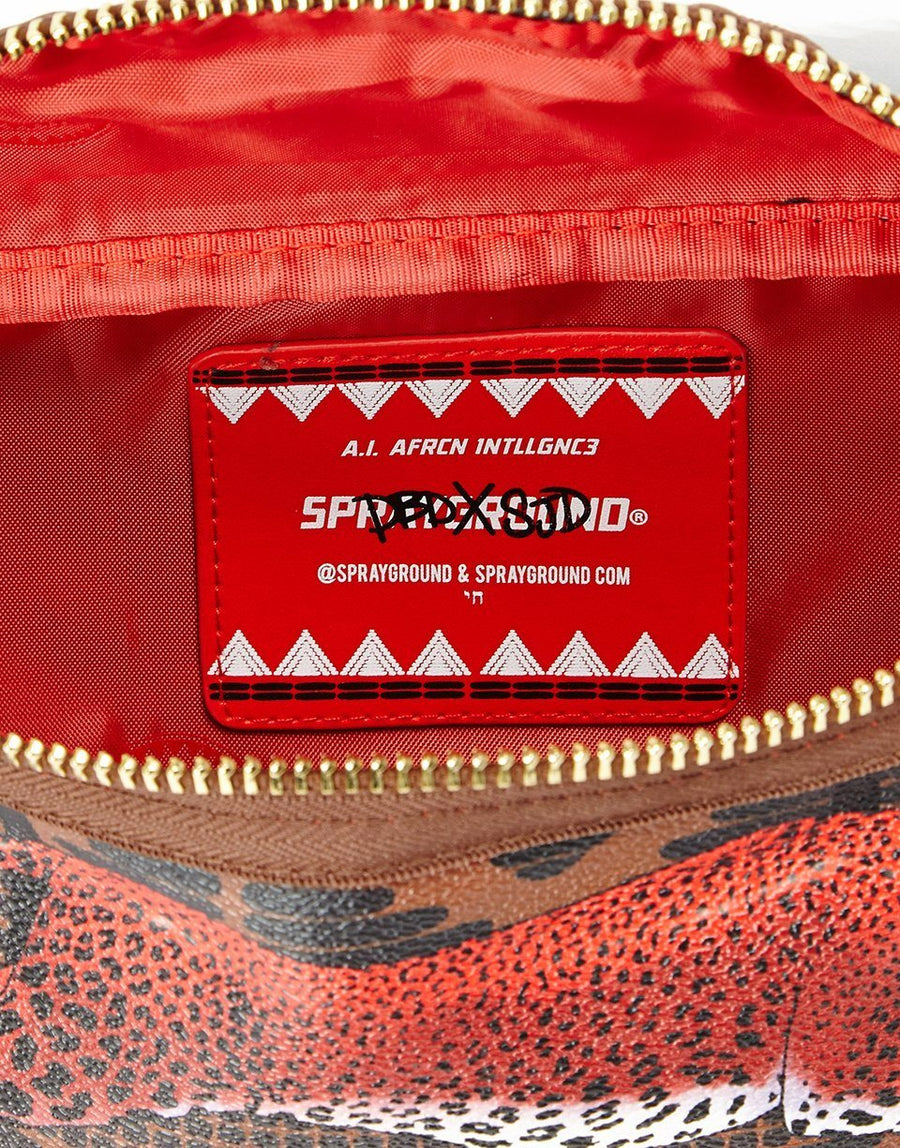 SPRAYGROUND- LEOPARDS IN PARIS CROSSBODY CROSS BODY