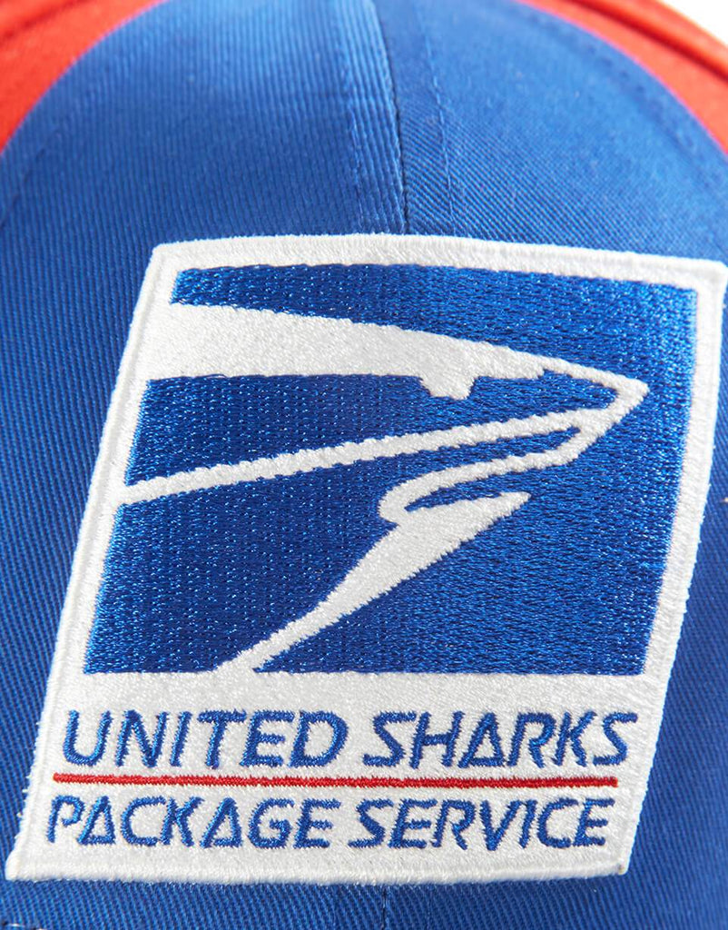 SPRAYGROUND- UNITED SHARKS PACKAGE SERVICE HAT HAT