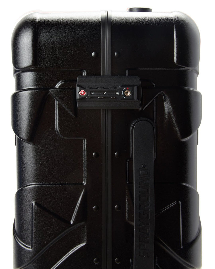SPRAYGROUND- FULL-SIZE BLACK CARRY-ON BLACK LUGGAGE BUNDLE LUGGAGE