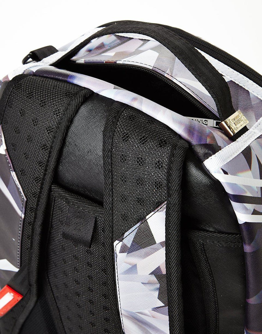 SPRAYGROUND- SPALDING X SPRAYGROUND ONE MILLION KARAT DIAMOND BACKPACK BACKPACK