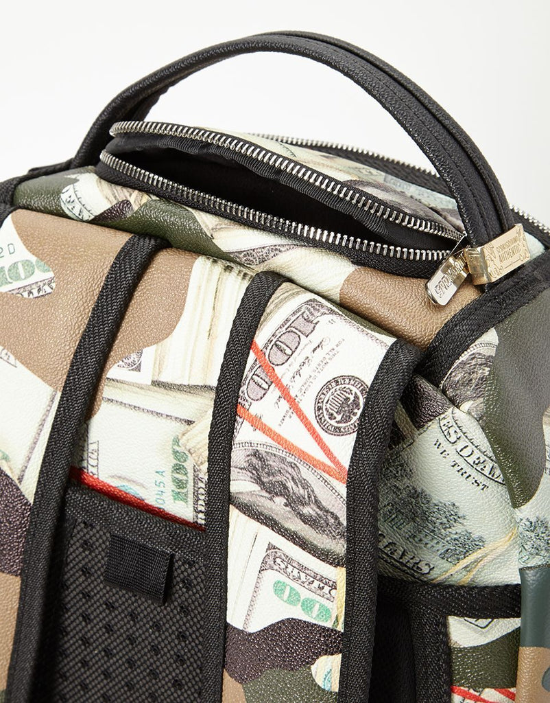 SPRAYGROUND- CAMO MONEY SHARK BACKPACK