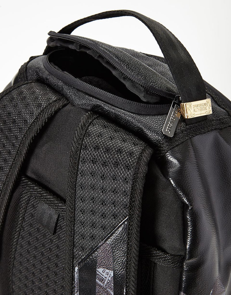 SPRAYGROUND- BLACKOUT MONEY DRIPS BACKPACK