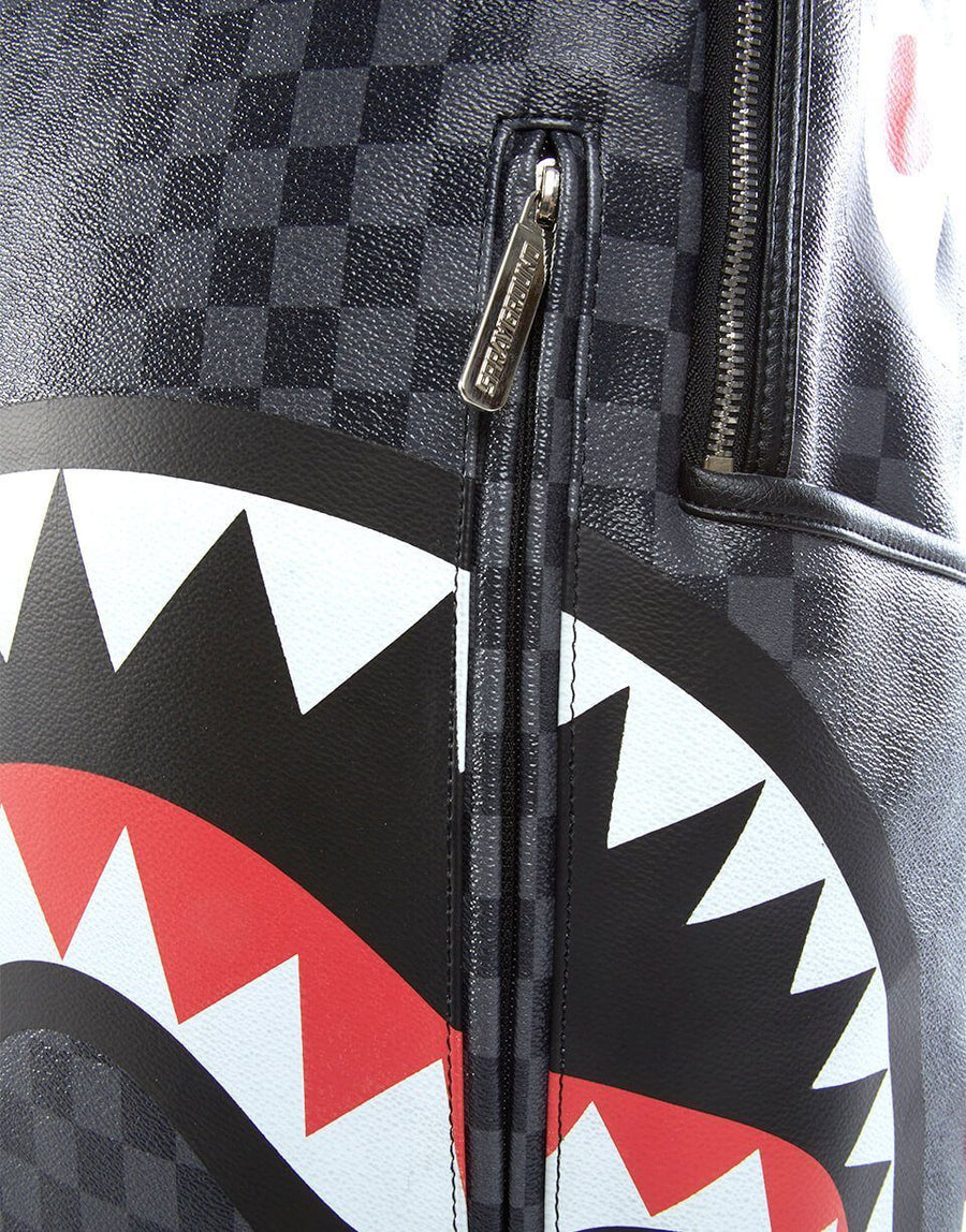 SPRAYGROUND- SHARKS IN PARIS (BLACK) BACKPACK