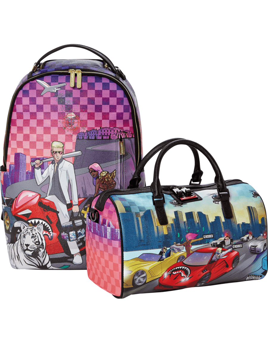 SPRAYGROUND- DOPE BAG DEALER MINI DUFFLE DUFFLE