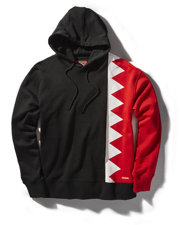 BIG BITE VERTICAL SHARK HOODY