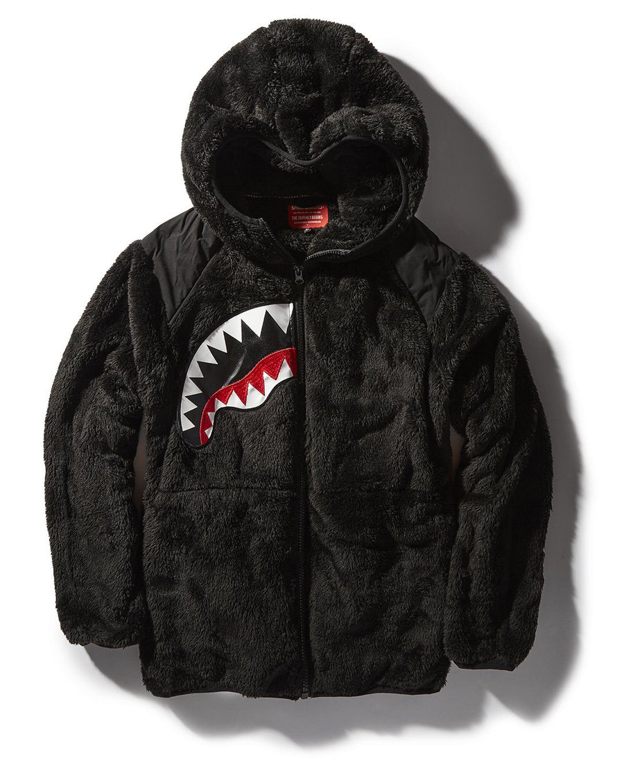 SPLIT SHARK PLUSH JACKET
