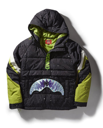 LIME GREEN SHARK SKI JACKET