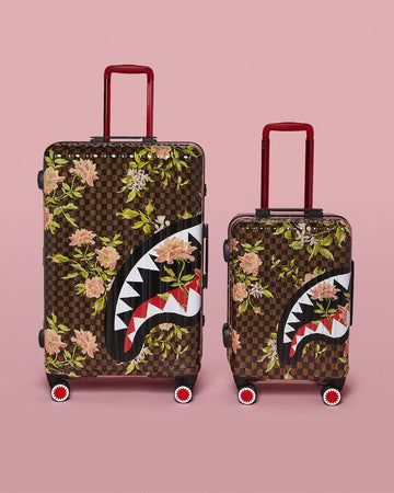 SHARKFLOWER BUNDLE: THE TRAVELERS LUGGAGE 2 PC SET