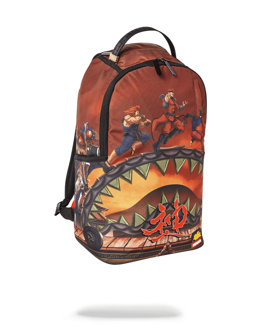 SPRAYGROUND- STREET FIGHTER: VILLAINS ON THE RUN BACKPACK BACKPACK