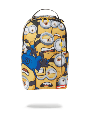 SPRAYGROUND- MINIONS CRAMMED BACKPACK BACKPACK