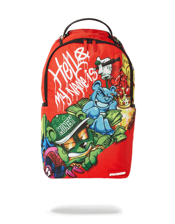 SPRAYGROUND- DA BOUNCE HOUSE BACKPACK BACKPACK