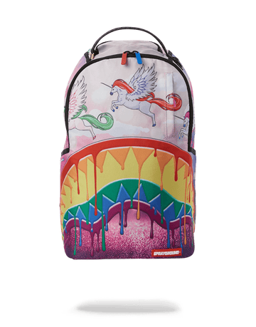 SPRAYGROUND- MELT THE RAINBOW BACKPACK BACKPACK