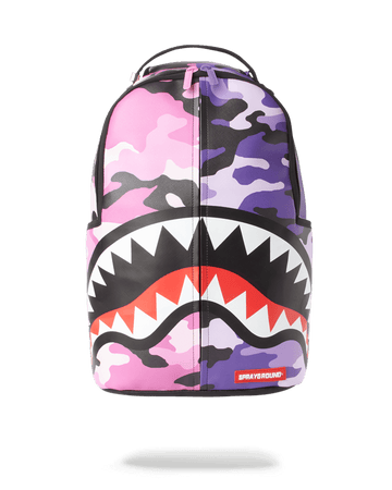SPLIT CAMO BACKPACK