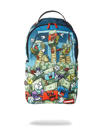 SPRAYGROUND- MONEY BOYS: THE BREAK OUT BACKPACK BACKPACK